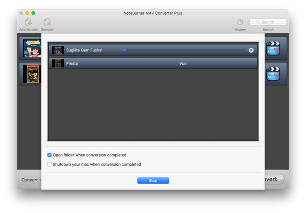 convert movie or tv show for iPad