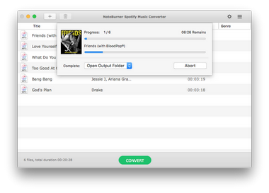 extract MP3s from Spotify