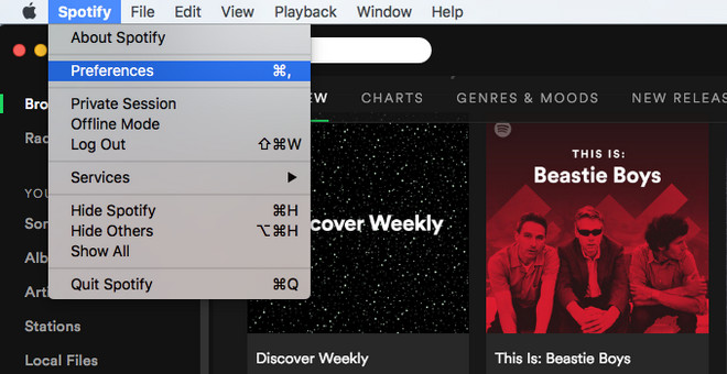 add music to spotify mac