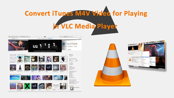 play iTunes M4V via VLC media player