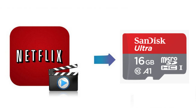 netflix to sd card