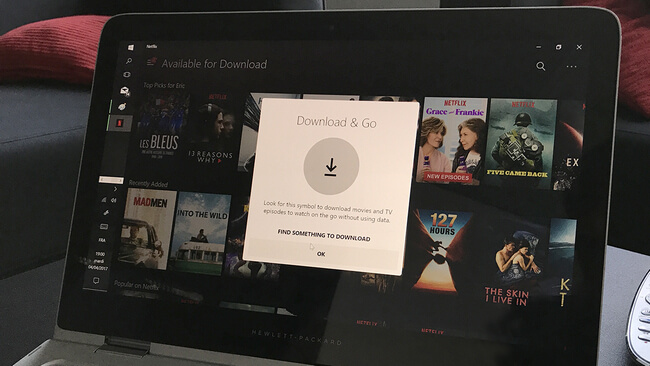 netflix download location