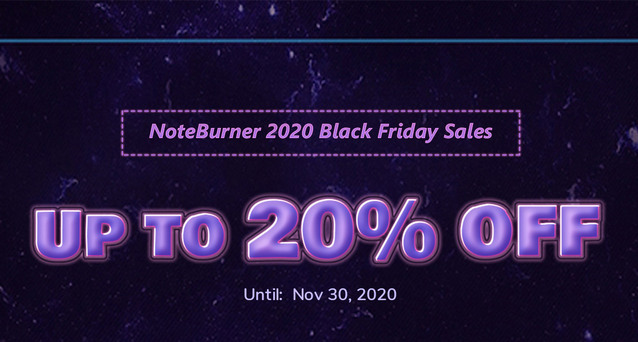 noteburner 2020 black friday sale