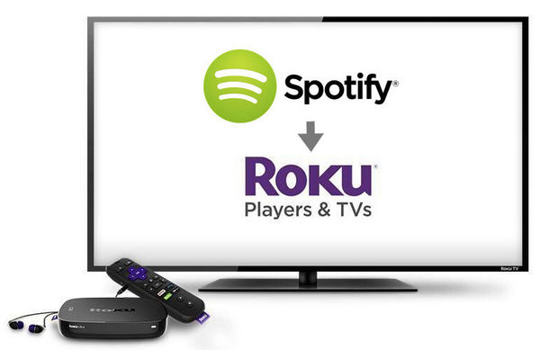 play spotify on roku