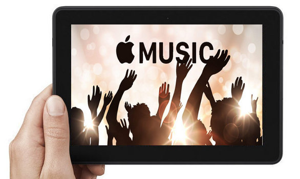 Play Apple Music on kindle fire