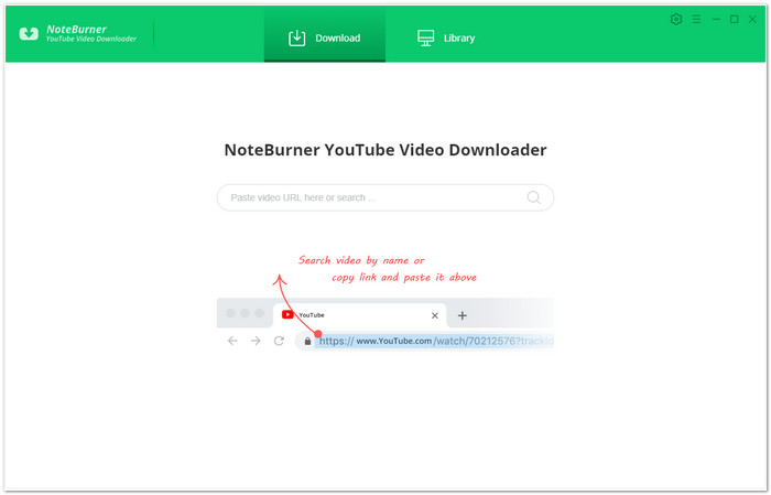 NoteBurner YouTube Video Downloader